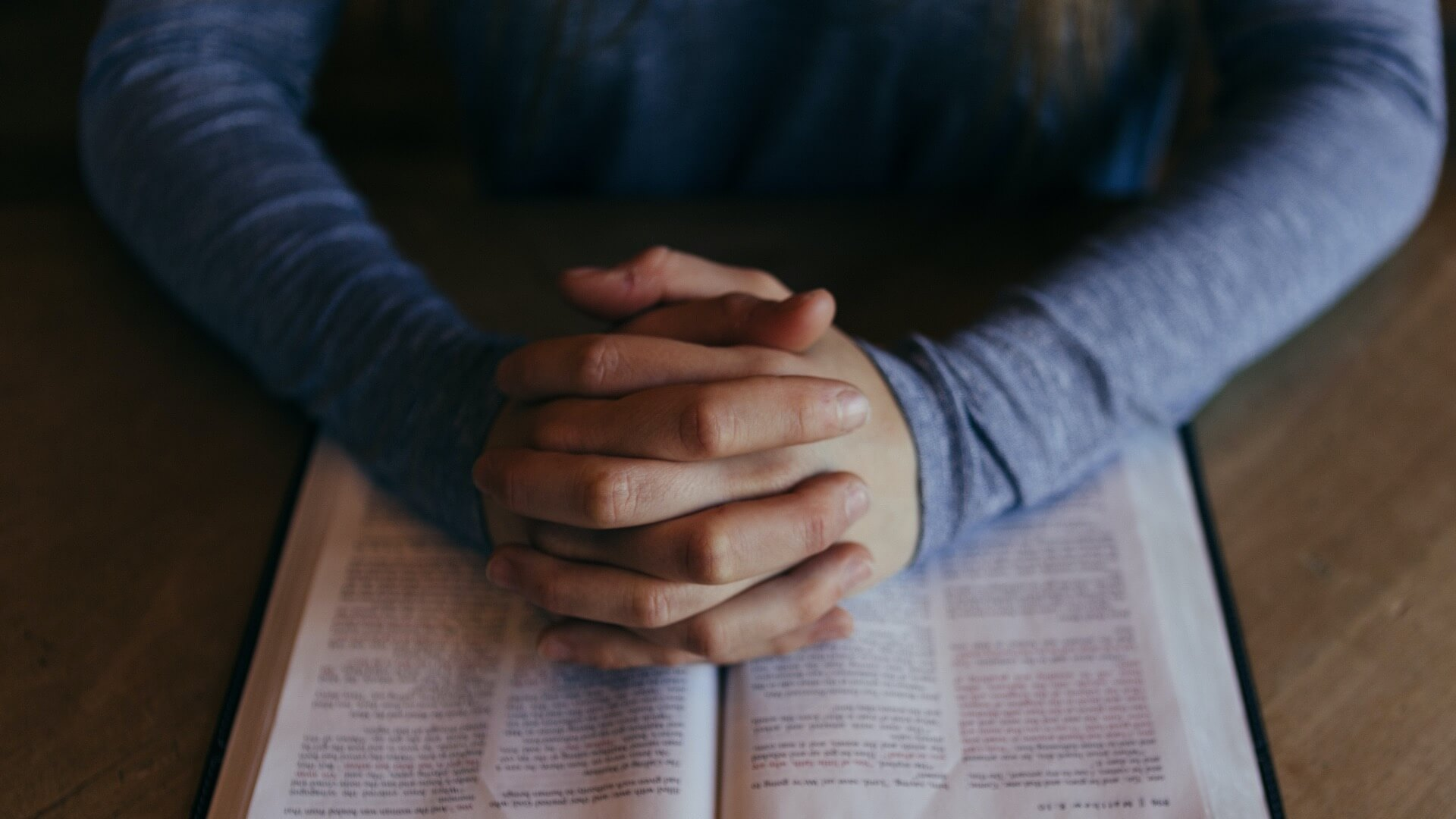 Beten: Vorm Er zum Du