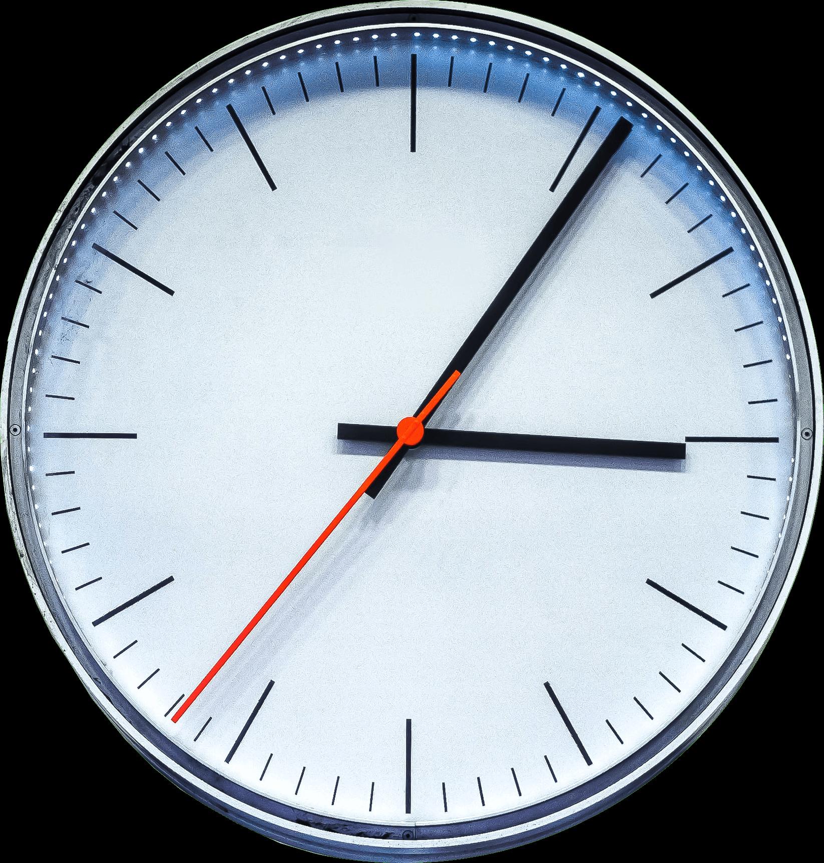 Die Zeit tickt